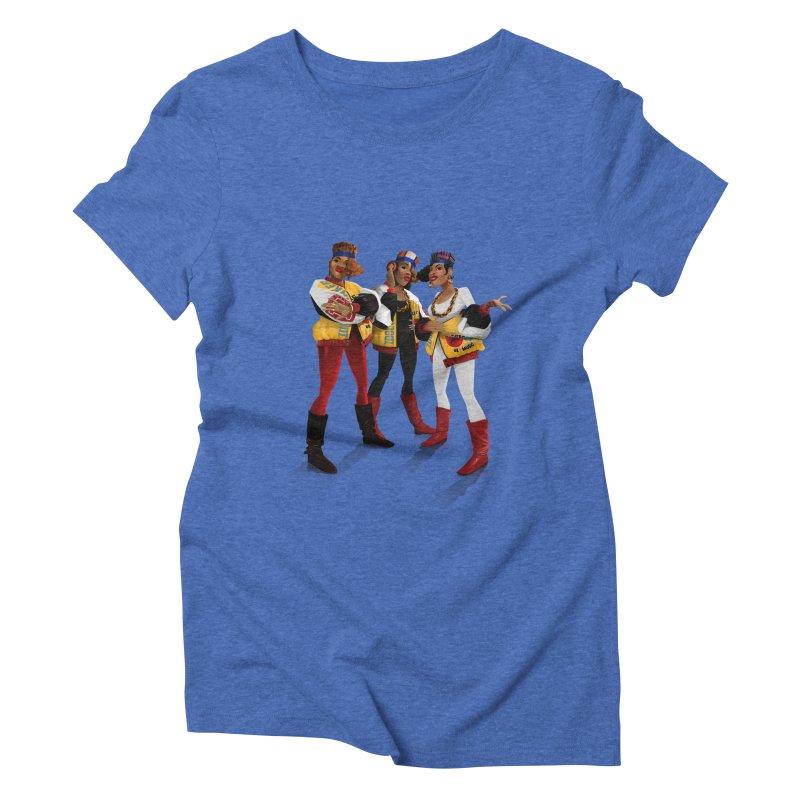 Salt n Pepa Women's Triblend T-Shirt by Dedos tees