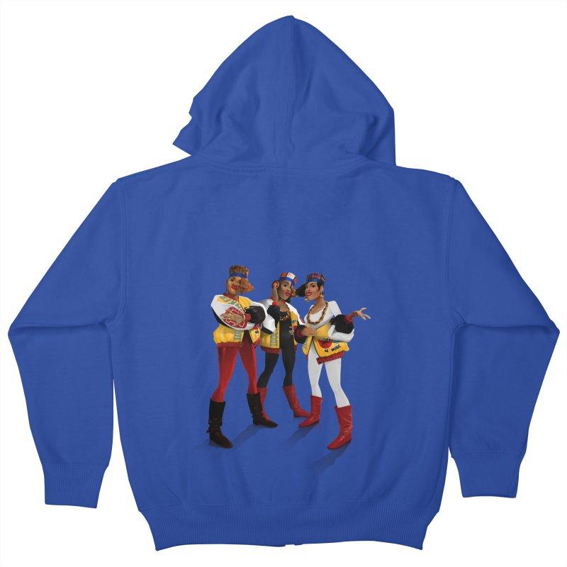 Salt n Pepa Kids Zip-Up Hoody by Dedos tees