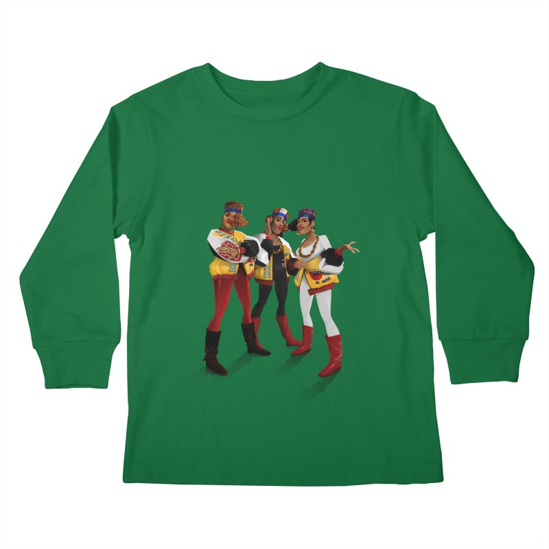 Salt n Pepa Kids Longsleeve T-Shirt by Dedos tees