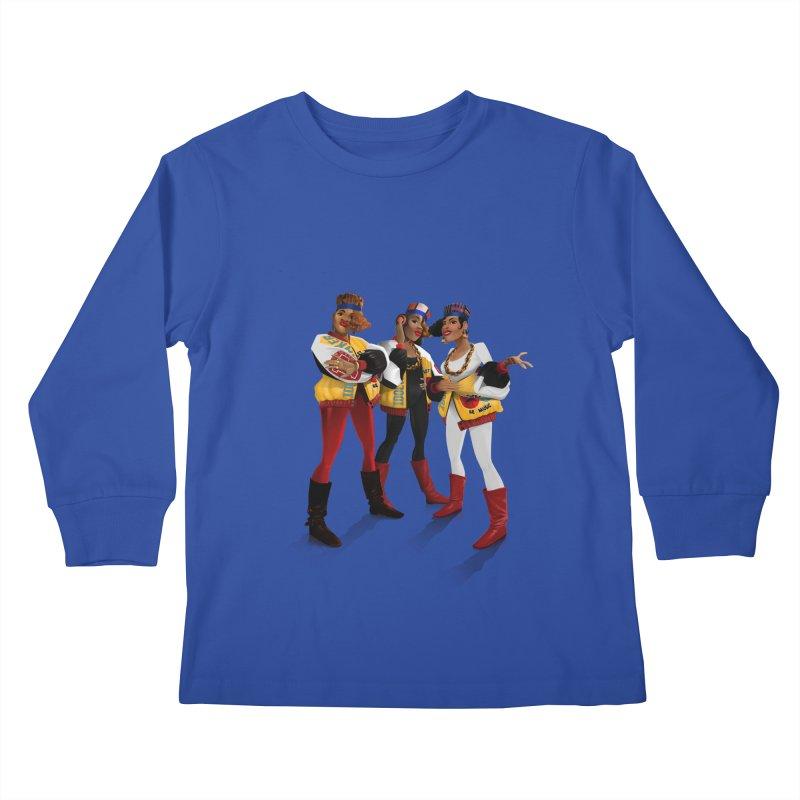 Salt n Pepa Kids Longsleeve T-Shirt by Dedos tees