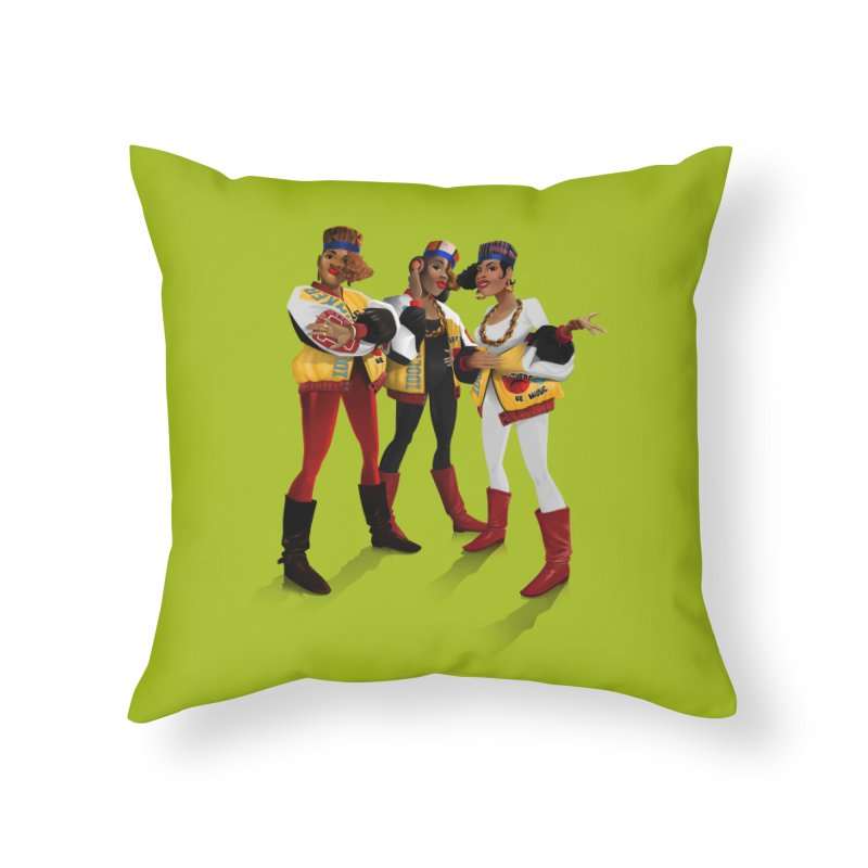Salt n Pepa Home Throw Pillow by Dedos tees