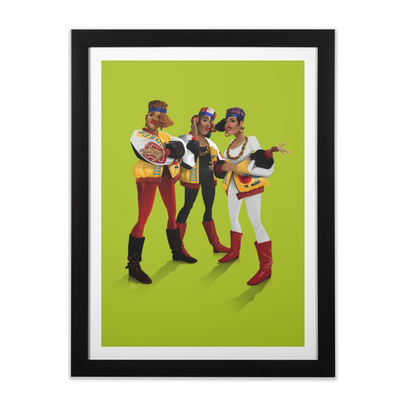 Salt n Pepa Home Framed Fine Art Print by Dedos tees