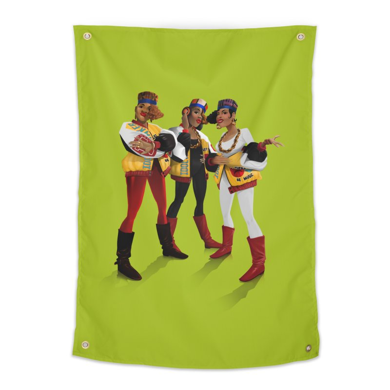 Salt n Pepa Home Tapestry by Dedos tees