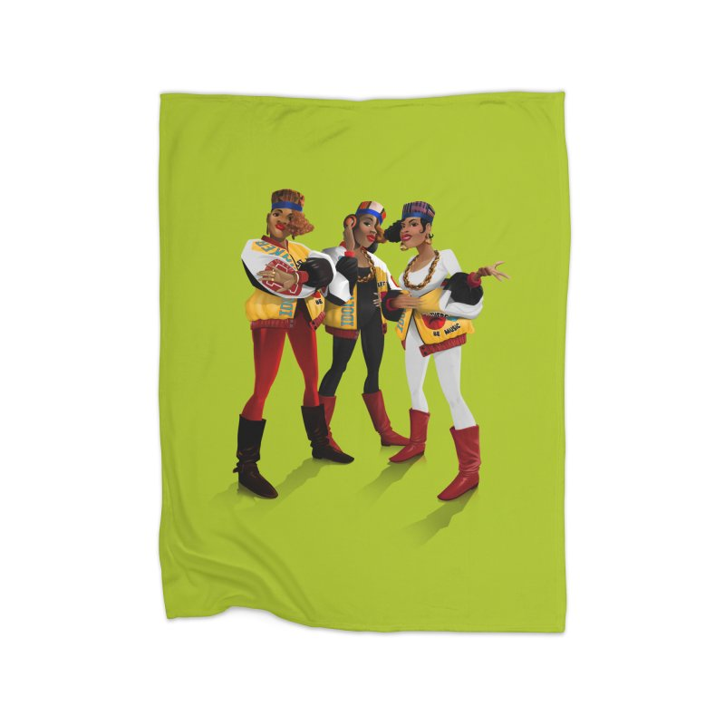 Salt n Pepa Home Fleece Blanket by Dedos tees