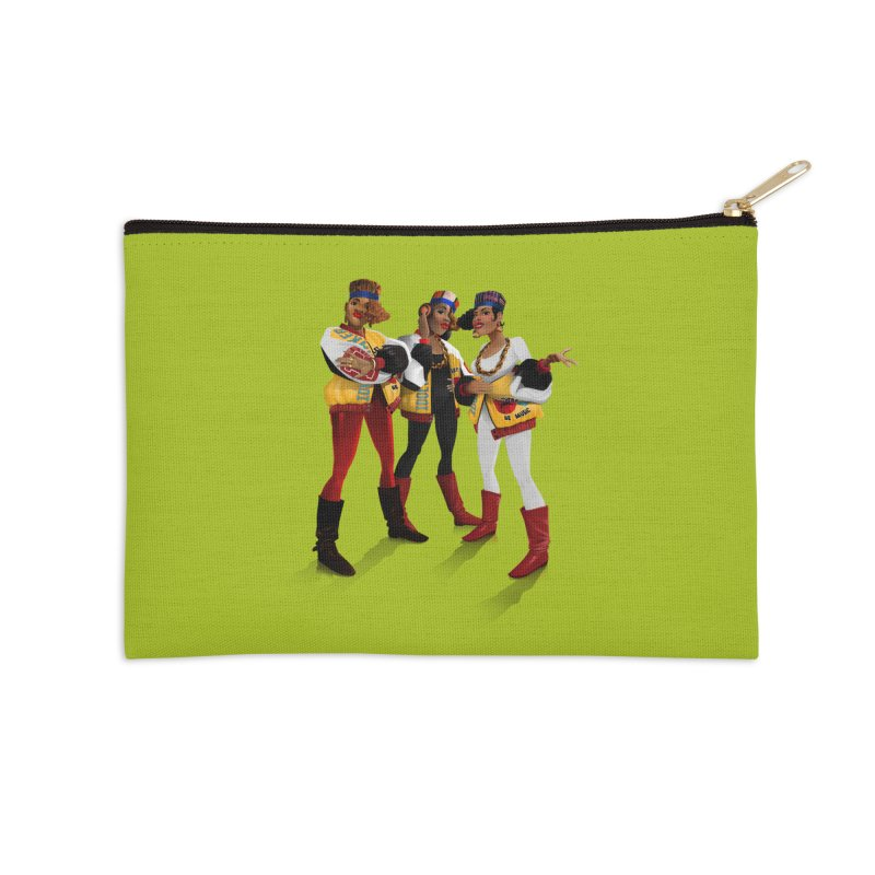 Salt n Pepa Accessories Zip Pouch by Dedos tees