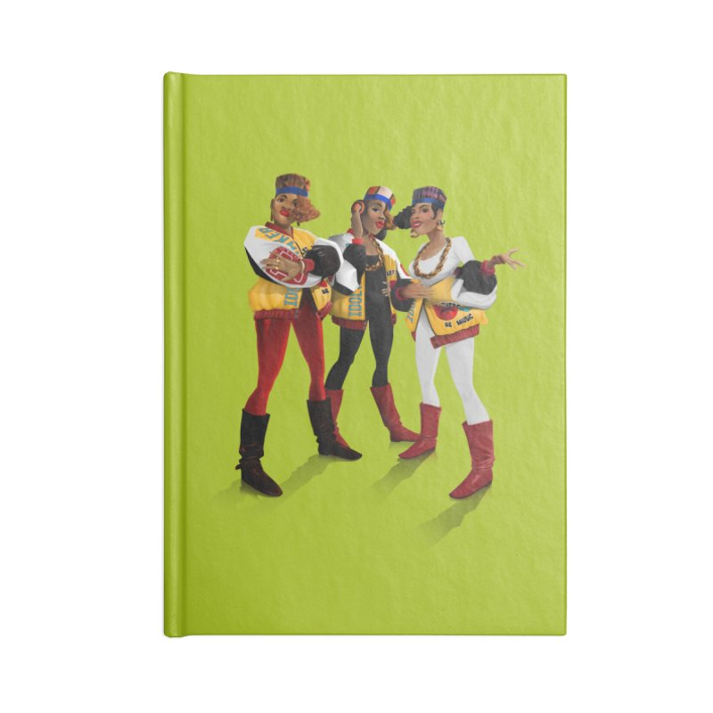 Salt n Pepa Accessories Lined Journal Notebook by Dedos tees
