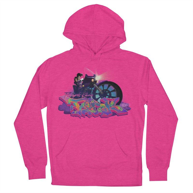 Dedos purple rain Men's Pullover Hoody by Dedos tees