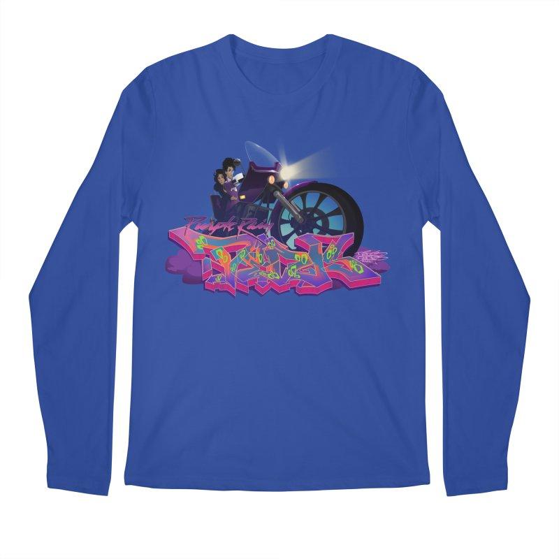 Dedos purple rain Men's Regular Longsleeve T-Shirt by Dedos tees