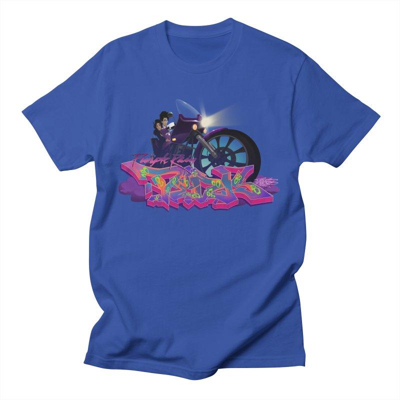 Dedos purple rain Men's T-shirt by Dedos tees