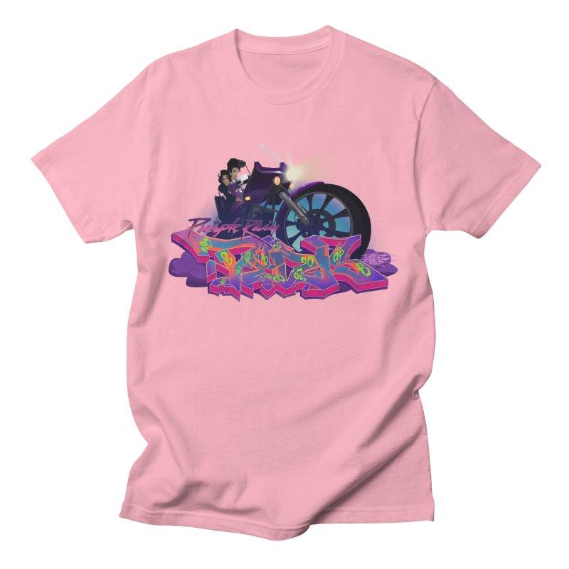 Dedos purple rain Men's Regular T-Shirt by Dedos tees