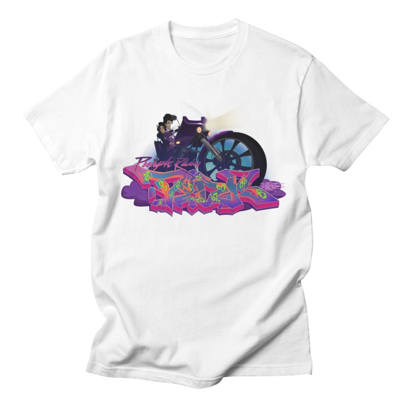 Dedos purple rain Women's Regular Unisex T-Shirt by Dedos tees