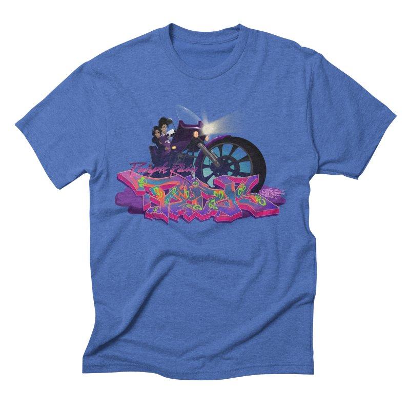 Dedos purple rain Men's Triblend T-Shirt by Dedos tees