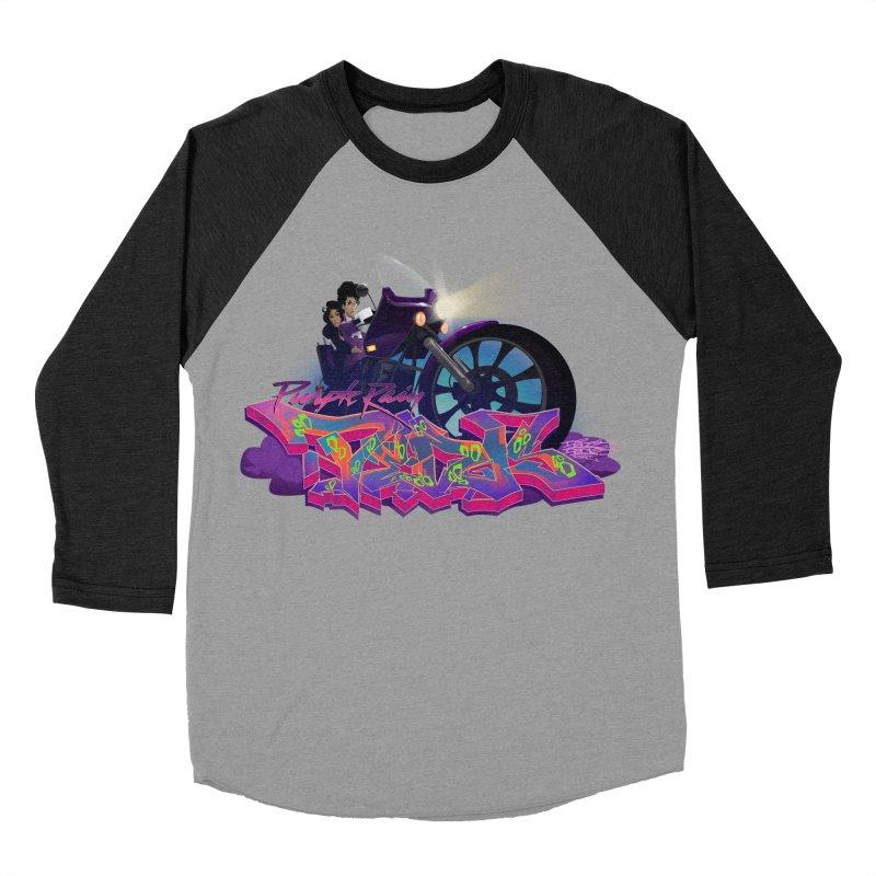 Dedos purple rain Men's Baseball Triblend Longsleeve T-Shirt by Dedos tees