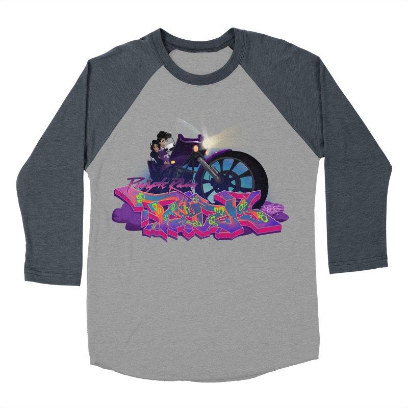 Dedos purple rain Men's Baseball Triblend T-Shirt by Dedos tees