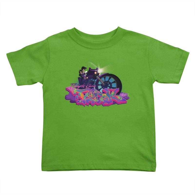 Dedos purple rain Kids Toddler T-Shirt by Dedos tees