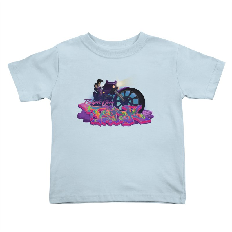 Dedos purple rain Kids Toddler T-Shirt by Dedos tees