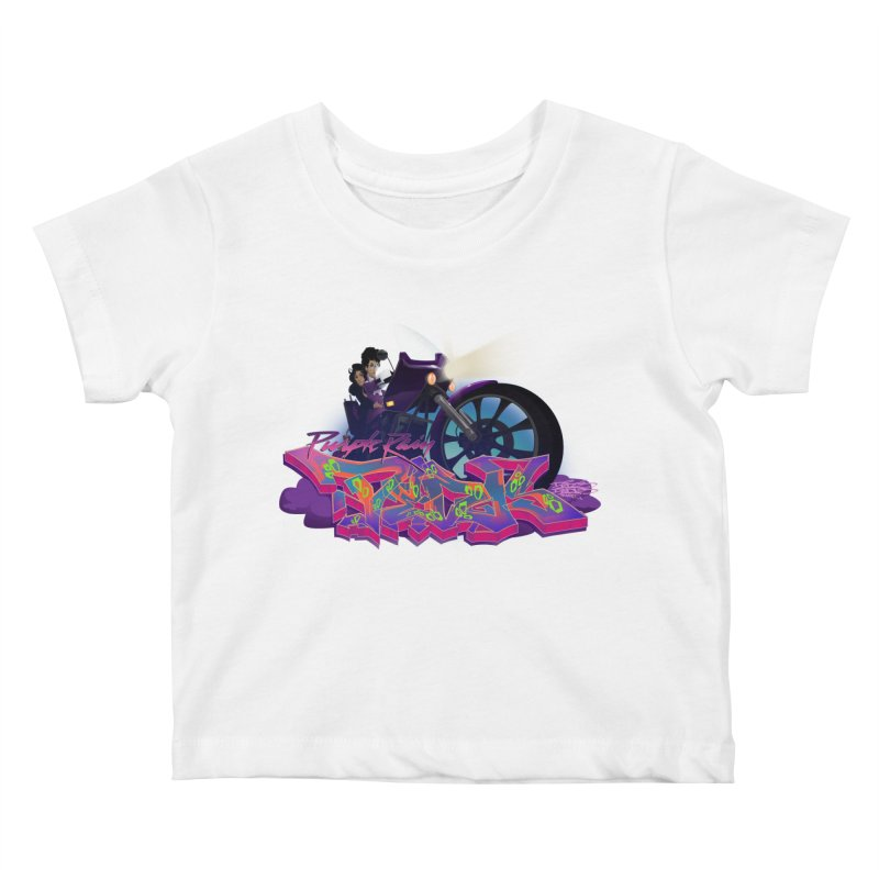 Dedos purple rain Kids Baby T-Shirt by Dedos tees