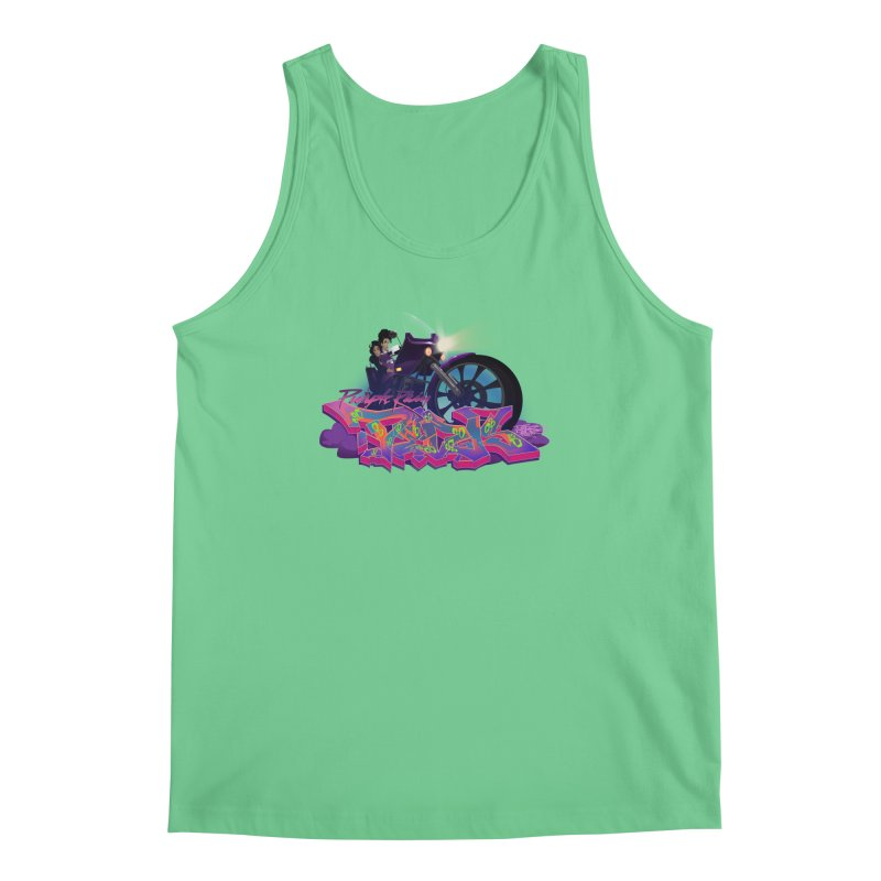 Dedos purple rain Men's Regular Tank by Dedos tees