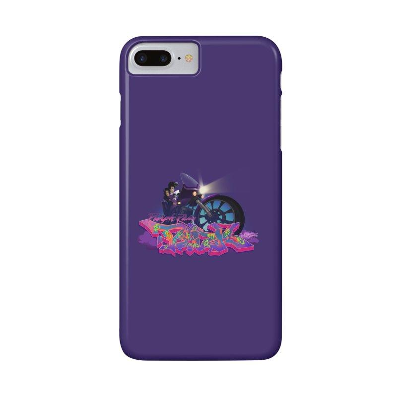 Dedos purple rain Accessories Phone Case by Dedos tees