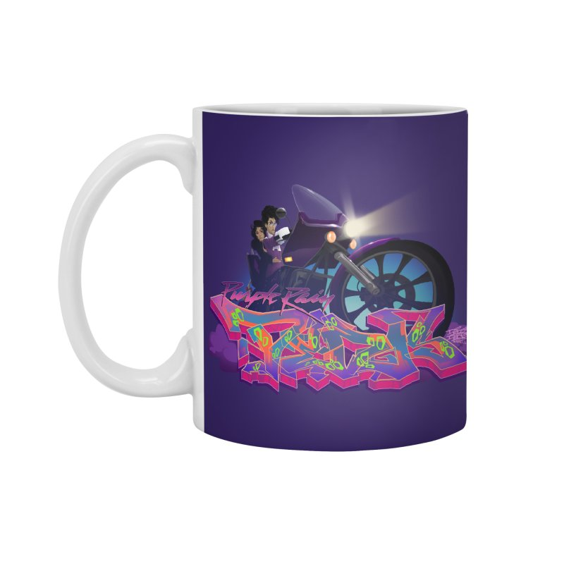 Dedos purple rain Accessories Mug by Dedos tees
