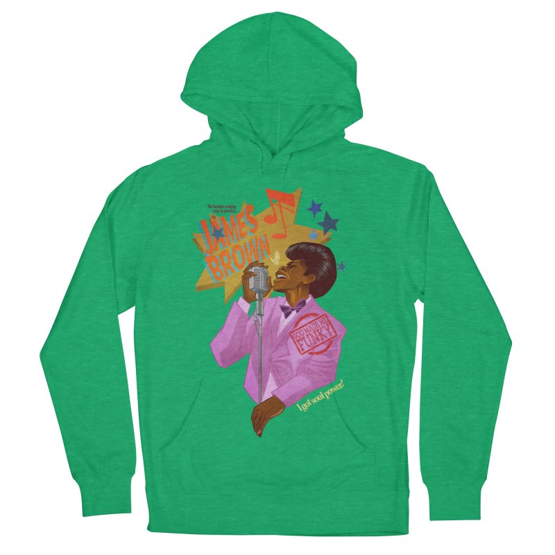 Soul Power Women's Pullover Hoody by Dedos tees
