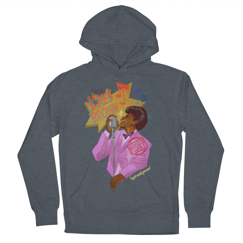 Soul Power Women's French Terry Pullover Hoody by Dedos tees