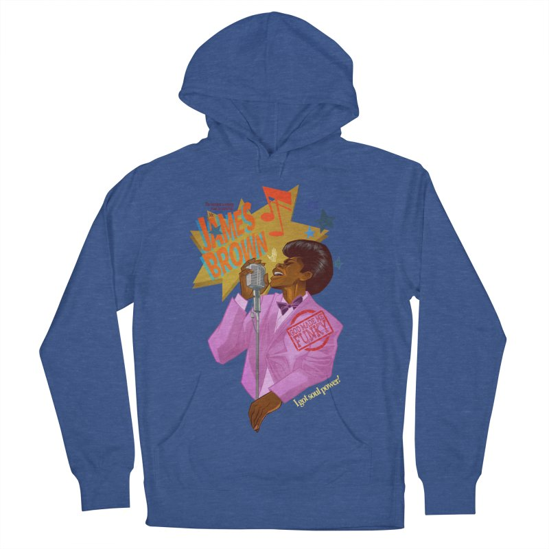 Soul Power Men's Pullover Hoody by Dedos tees