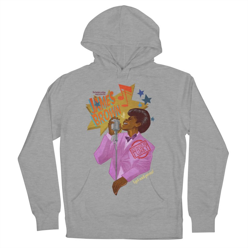 Soul Power Men's French Terry Pullover Hoody by Dedos tees