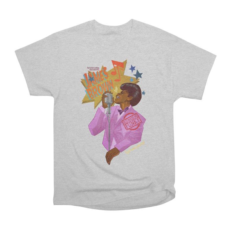 Soul Power Men's Heavyweight T-Shirt by Dedos tees