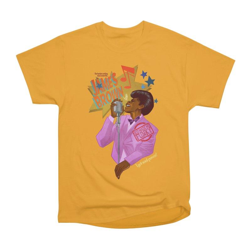Soul Power Women's Heavyweight Unisex T-Shirt by Dedos tees
