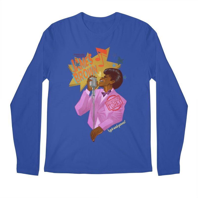 Soul Power Men's Regular Longsleeve T-Shirt by Dedos tees