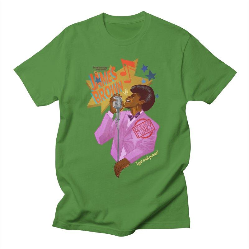 Soul Power Women's Regular Unisex T-Shirt by Dedos tees