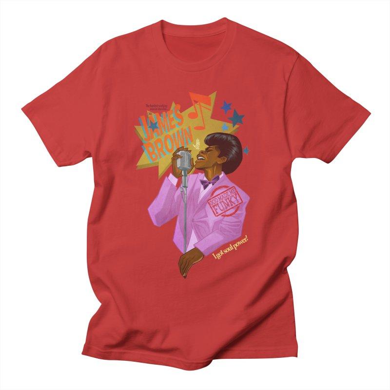 Soul Power Men's Regular T-Shirt by Dedos tees