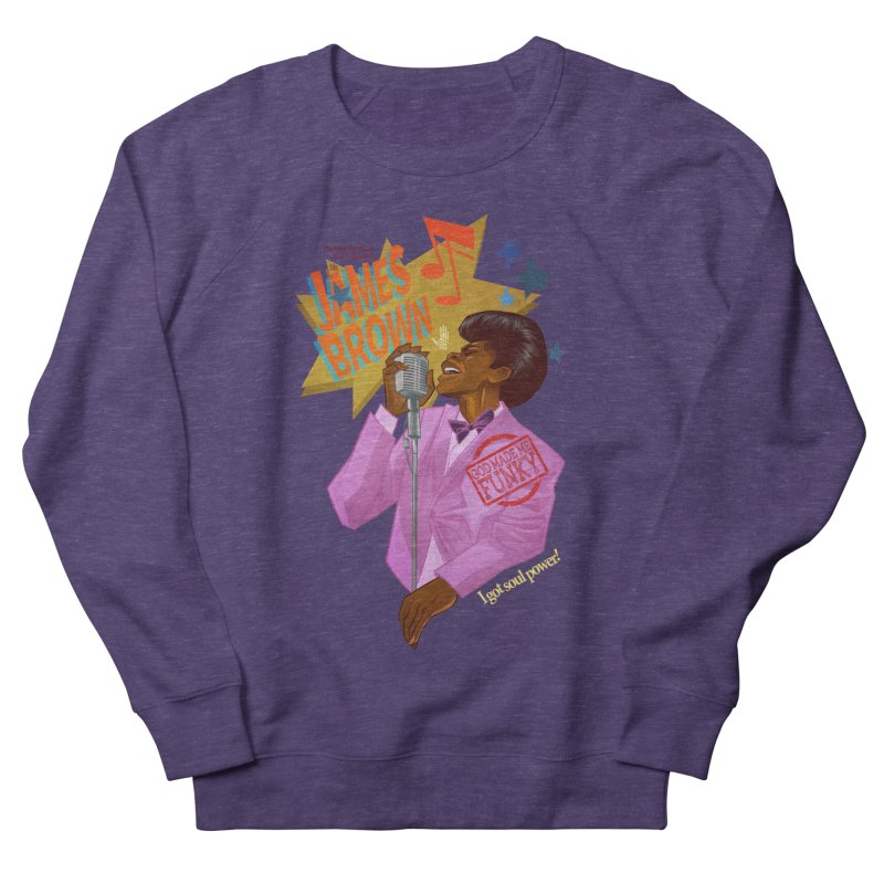 Soul Power Women's French Terry Sweatshirt by Dedos tees