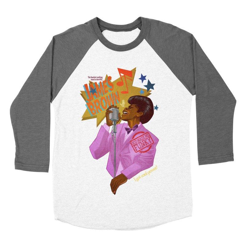 Soul Power Men's Baseball Triblend Longsleeve T-Shirt by Dedos tees