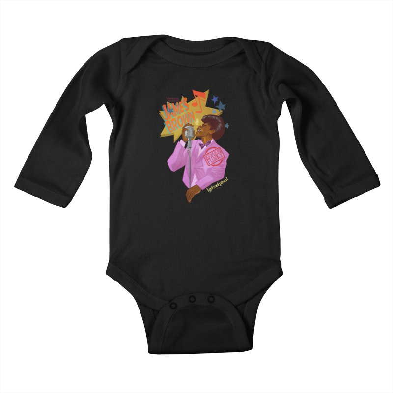Soul Power Kids Baby Longsleeve Bodysuit by Dedos tees