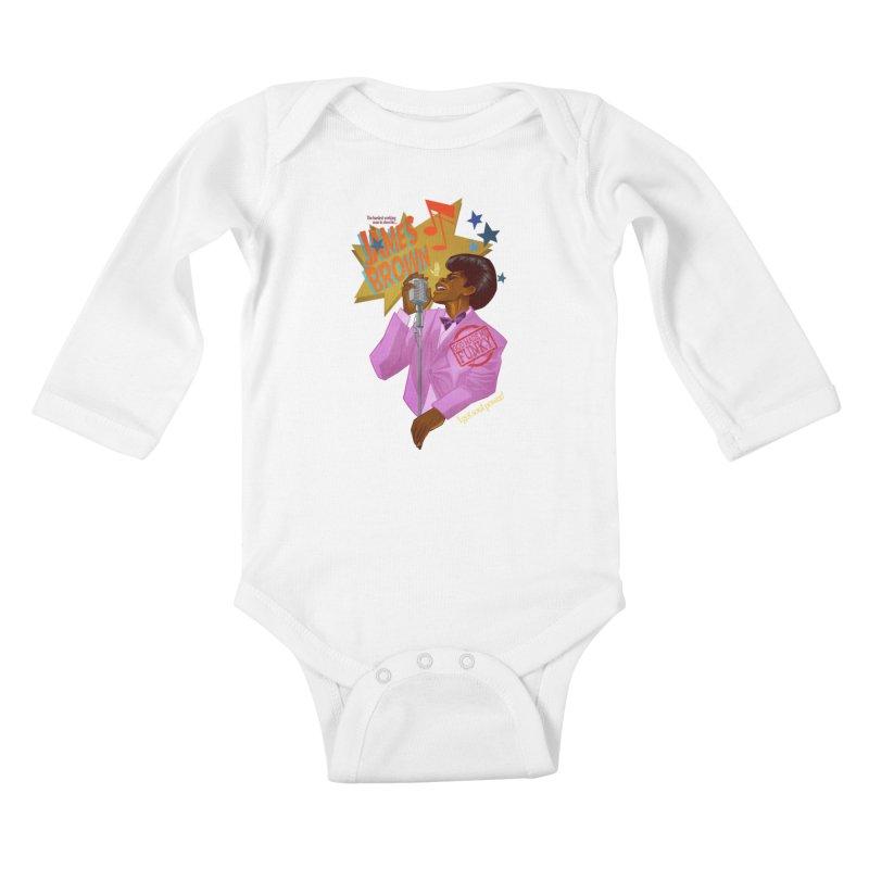 Soul Power Kids Baby Longsleeve Bodysuit by Dedos tees