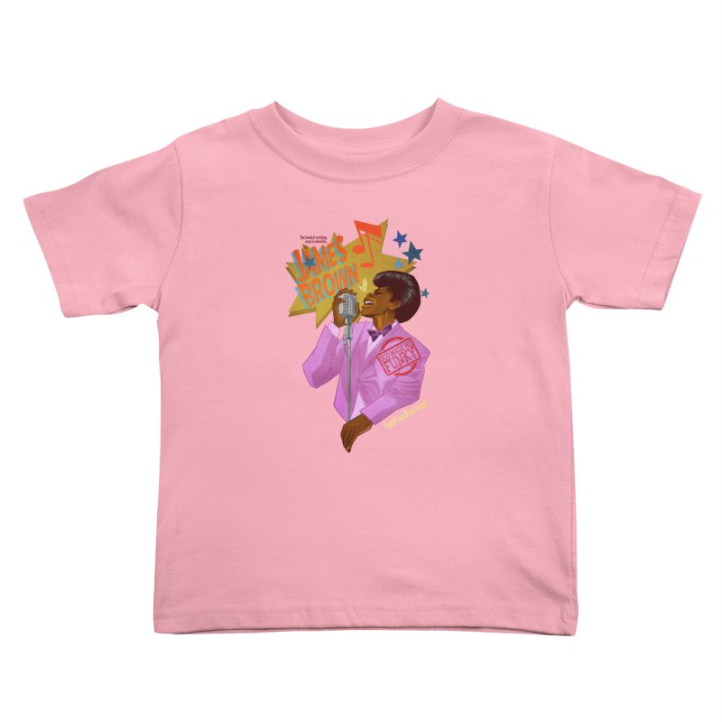 Soul Power Kids Toddler T-Shirt by Dedos tees