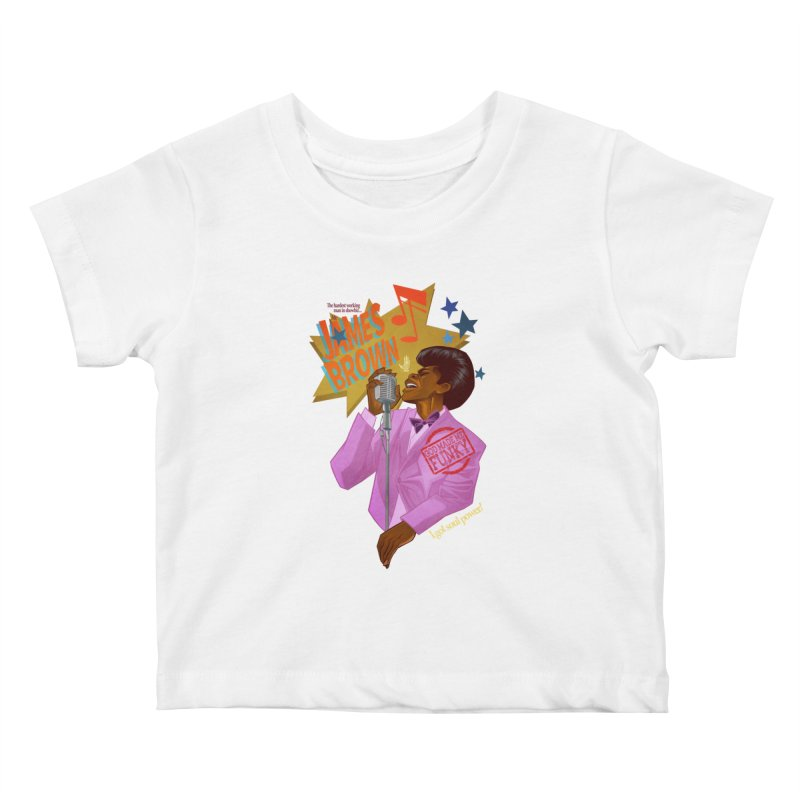 Soul Power Kids Baby T-Shirt by Dedos tees