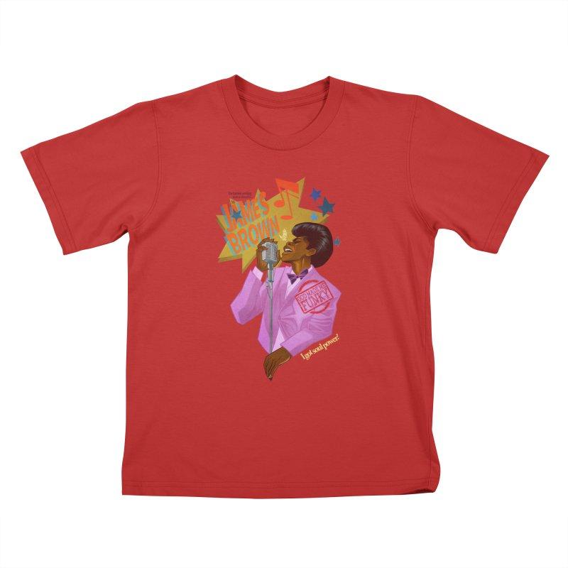 Soul Power Kids T-Shirt by Dedos tees