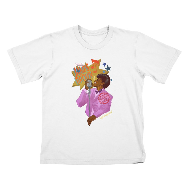 Soul Power Kids T-Shirt by Dedos tees