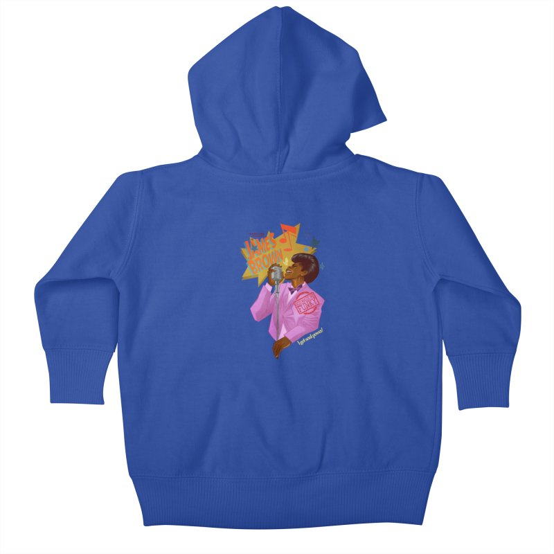 Soul Power Kids Baby Zip-Up Hoody by Dedos tees