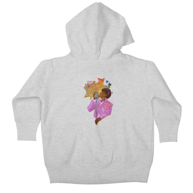 Soul Power Kids Baby Zip-Up Hoody by Dedos tees