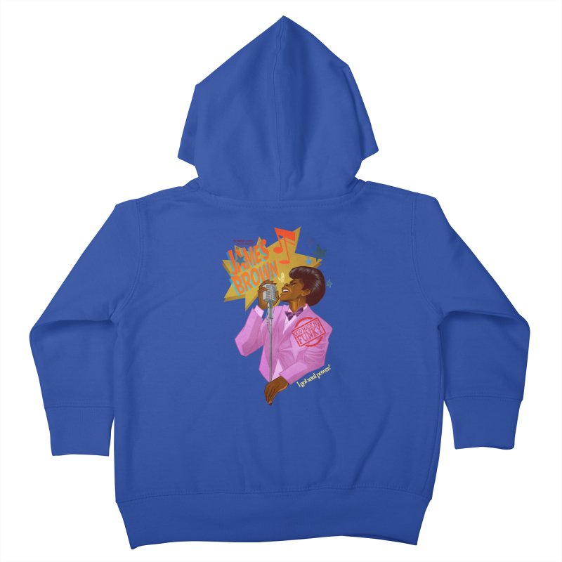 Soul Power Kids Toddler Zip-Up Hoody by Dedos tees