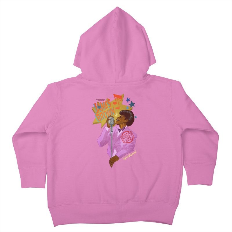 Soul Power Kids Toddler Zip-Up Hoody by Dedos tees