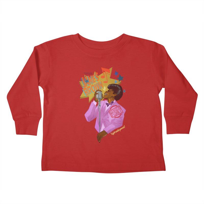 Soul Power Kids Toddler Longsleeve T-Shirt by Dedos tees