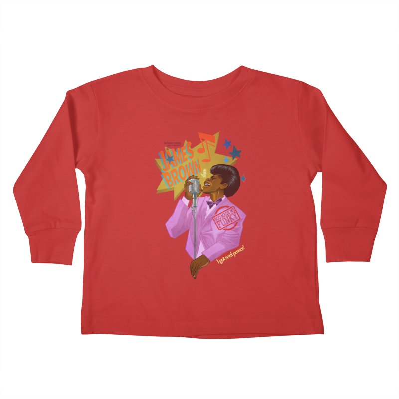 Soul Power Kids Toddler Longsleeve T-Shirt by Dedos tees