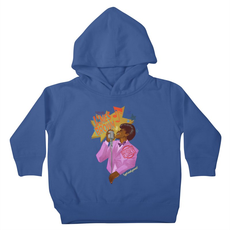 Soul Power Kids Toddler Pullover Hoody by Dedos tees