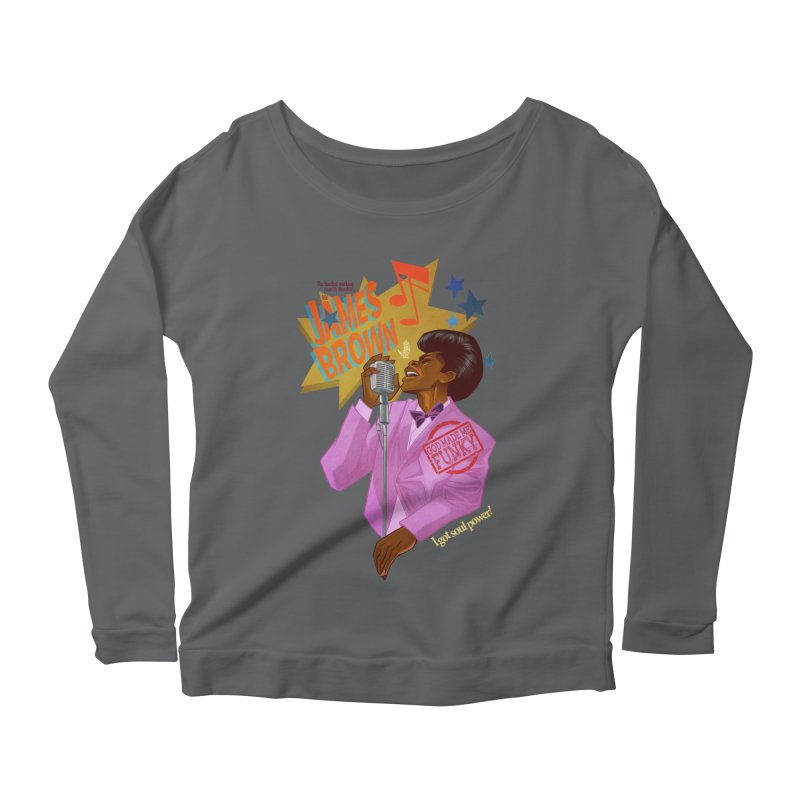 Soul Power Women's Scoop Neck Longsleeve T-Shirt by Dedos tees
