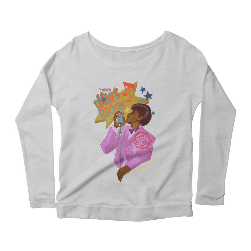 Soul Power Women's Scoop Neck Longsleeve T-Shirt by Dedos tees